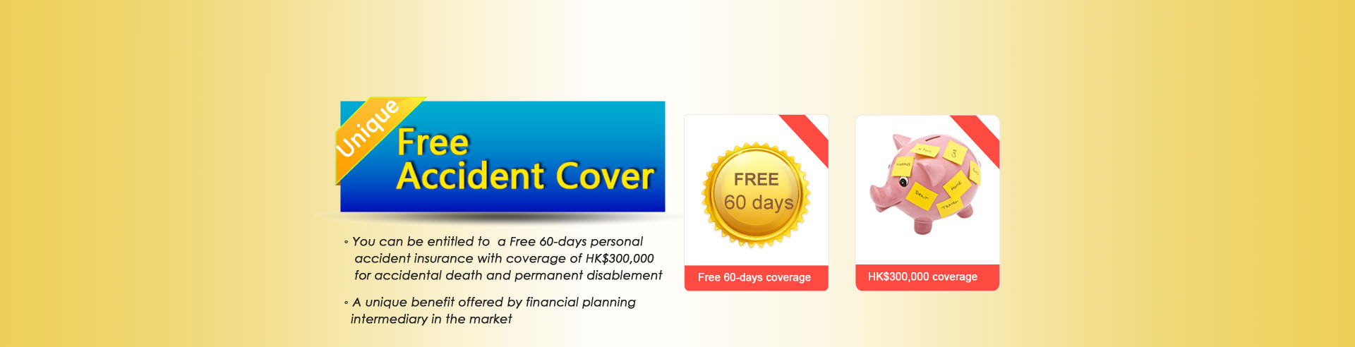 Free accident cover